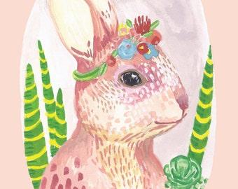 Rabbit 8 X 10 PRINT
