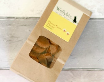 Hand Baked Dog Biscuit - Peanut Butter with Spelt