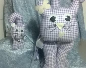Three sizes of handmade door stop cats from Euro 5.00