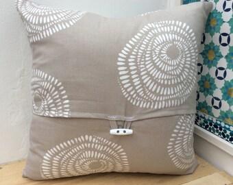 Scandinavian look beige cushion