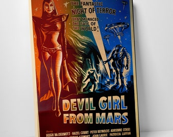 Devil Girl From Mars Gallery Wrapped Canvas Print