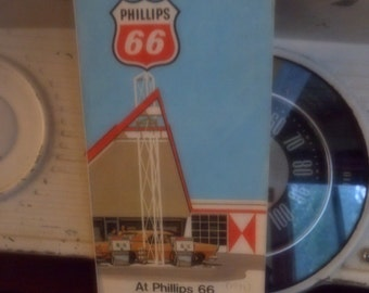 1971 California Road Map - Highway and Street Map - Phillips 66