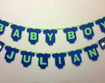 25% off with coupon FLASHSALE - Seattle Seahawks Baby Shower Banner