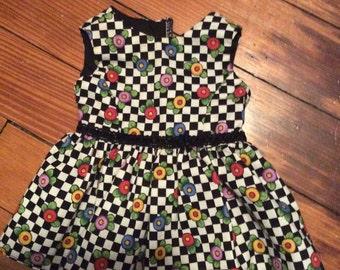 Floral dress for American girl dolls
