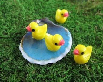 Set of 4 Miniature Ducks - Wholesale Miniature Duckies