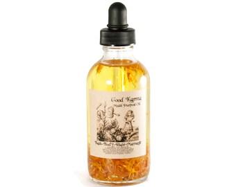 Body Oil, Good Karma Multi Purpose Oil, Body Oil, Bath Oil, Hair Oil, Massage Oil, Moisturizer, Gift For Her, All Purpose Oil