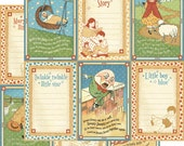 CLEARANCE SALE!  Graphic 45 Mother Goose 12x12 Paper Mega Kit