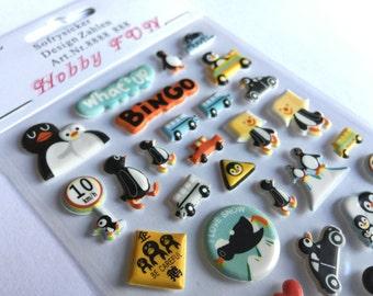 Stickerset Penguin! (A1074)