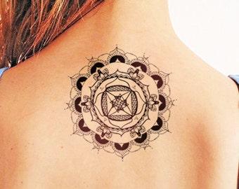 Mandala - Temporary tattoo