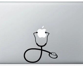 Sticker stethoscope for Mac
