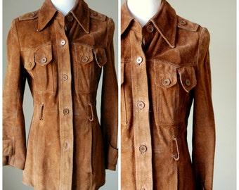 1970s Split End LTD. Genuine Leather Jacket