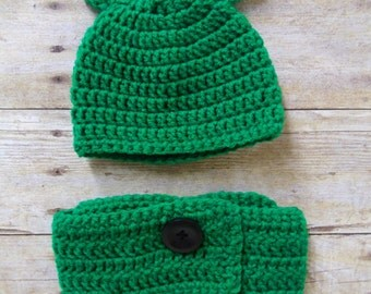 Newborn Frog Hat and Diaper Cover, Baby Frog Hat, Crochet Frog Hat, Crochet Frog, Frog Photo Prop, Baby Crochet Frog, Newborn Photo Prop