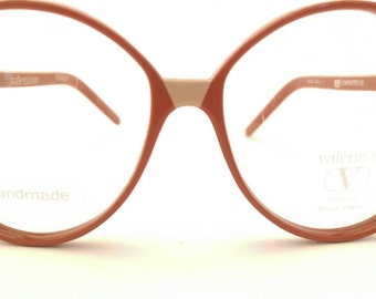 Vintage Valentino Glasses Burnt Orange