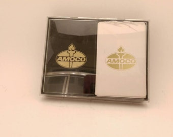 Vintage Amoco Playing Cards NOS
