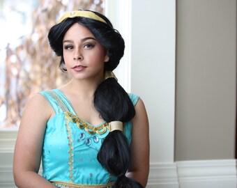 Princess Jasmine Cosplay Wig