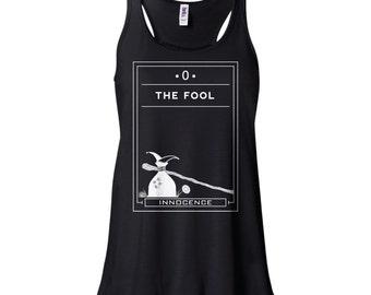 Tarot | The Fool | Flowy Tank