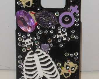 Samsung Galaxy S6 Edge Plus Purple Horror & Character Phone Case