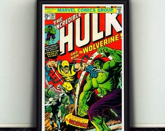 11x17 Incredible Hulk #181 Comic Book Cover Poster Print