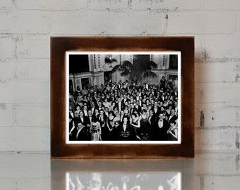 The Shining Overlook Hotel Ballroom Photograph Jack Nicholson Movie Prop Print 8.5x11