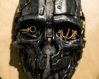 Inspired Corvo Attano Dishonored Korvo Fan Art mask game cosplay rat assassin costume