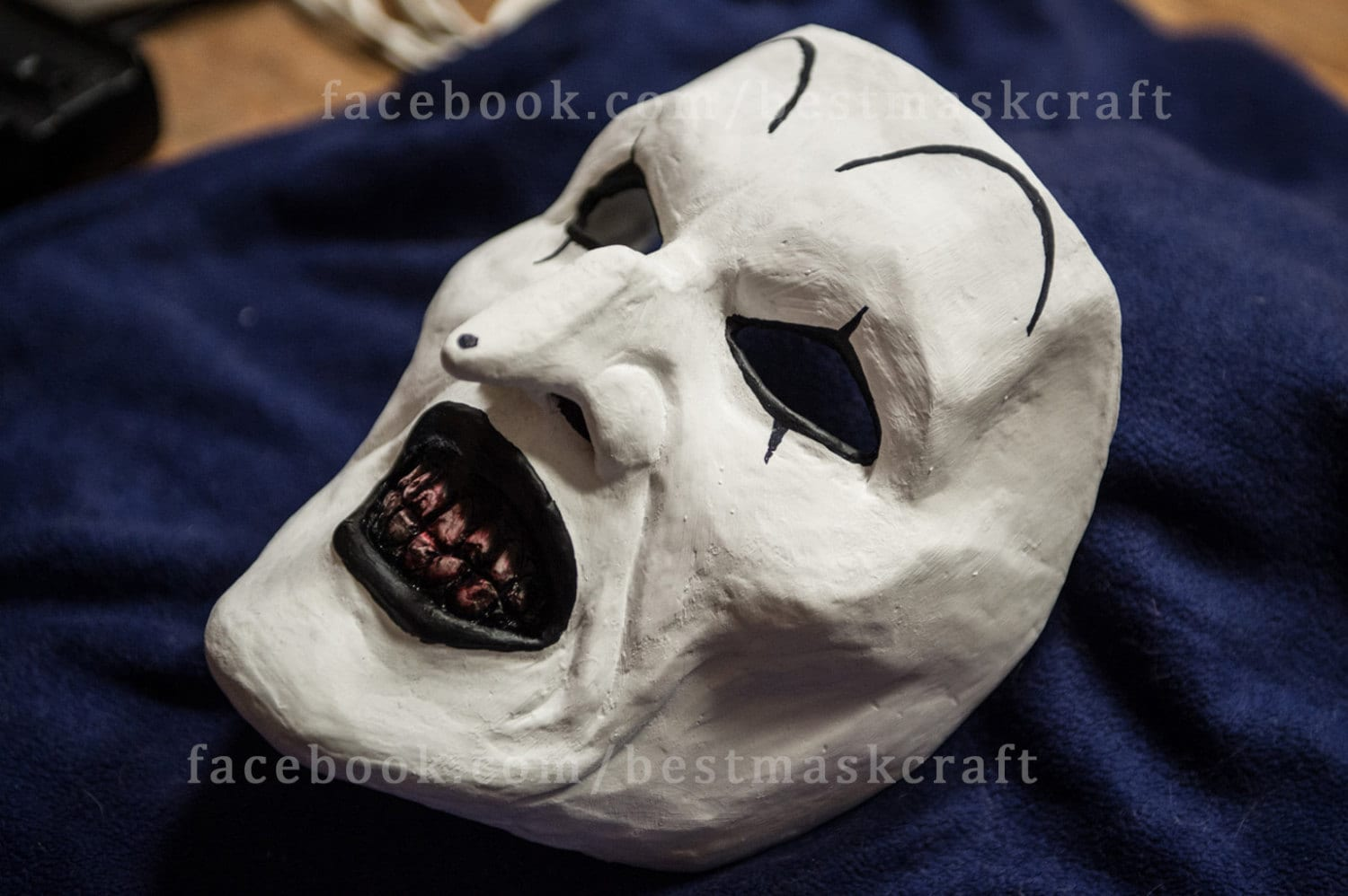 inspired Terrifier all hallows eve art the clown mask cosplay