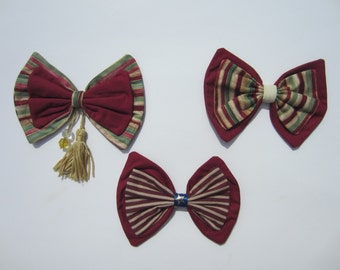Stars and Stripes Lolita Hair Bows