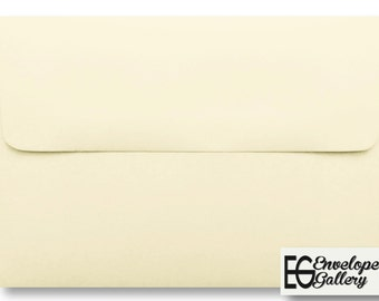A6 Ivory Envelopes for 4 x 6 Invitations Cards Announcements Weddings Photo Gift Shower Ecru Natural