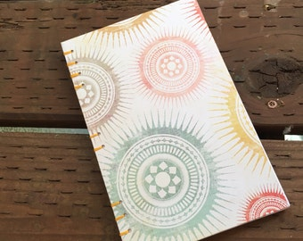 """Lined Journal- Coptic Bound 5.5""""x8.5"""""""
