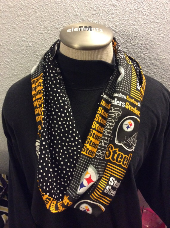 nfl pittsburgh steelers day infinity scarf by hawkus