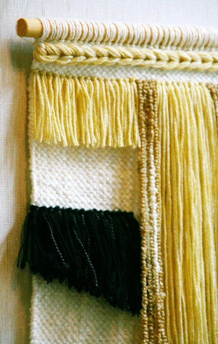 Handwoven wall hanging, handwoven tapestry, wall decor, woven wall ...