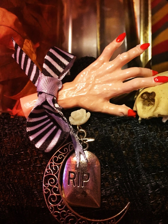Wicked Witch Halloween Spell Casting Under A Crescent Moon