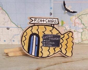 Ceramic Fish & Chip Shop