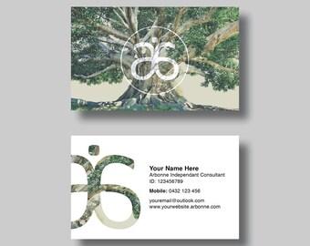 Arbonne Business Card (Life) - Digital Design