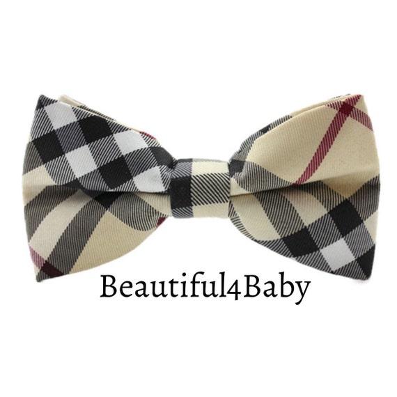 tartan baby bow tie tartan plaid bow tie toddler bow tie