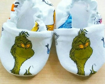 Grinch Inspired Baby/Kid Shoes