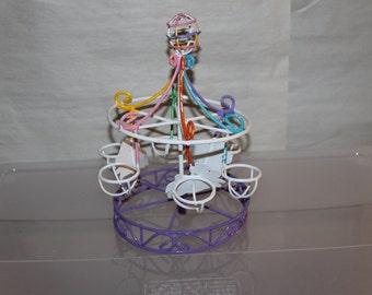 Easter Egg Merry Go Round, Easter Holiday, Home Decoration, Easter Decorations, Egg Display, Easter Party Decorations, Show Easter Eggs CUTE