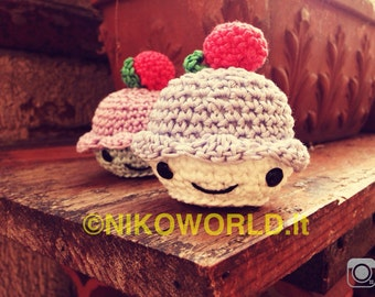 Handmade Amigurumi Cupcake!
