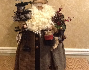 Kay Burkart Woodland Santa