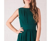 Unique Emerald Green Dress Related Items Etsy