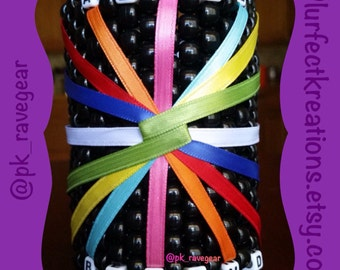 Above and Beyond Group Therapy Ribbon Kandi Cuff