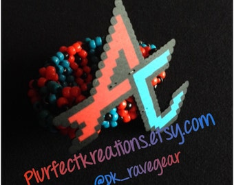 Adventure Club 3D Kandi Cuff