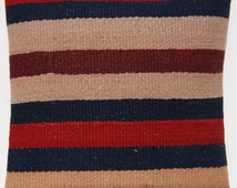 """floor cushion cover turkish kilim pillow  cover hand woven square wool J876 area rug 12""""x12"""""""