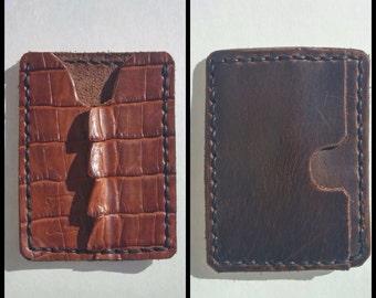 Alligator Tail Wallet