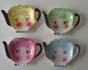 I Will Hold Your Teabag Japan Set Of Four