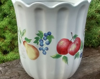 Corelle Large CHUTNEY Sugar Flour Canister Only NO LID  Jay Import Corning