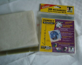 CD/DVD covers disc, case packing, protection, digital file storage pouches made of plastic