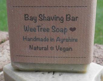 Bay Shaving Bar Natural Handmade Vegan Soap Bar