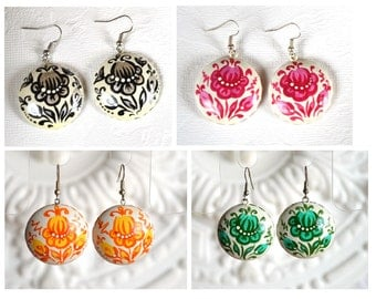 Dangling Earrings boho earrings gift|for|wife gift|for|her bridal jewelry handmade earrings handmade Jewelry ethnic jewelry boho Jewelry Art