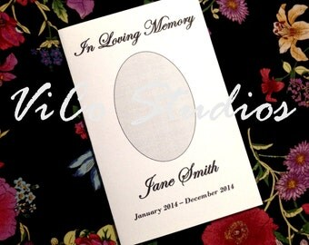 Easy Printable Template Funeral Program