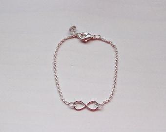 Infinity bracelet.